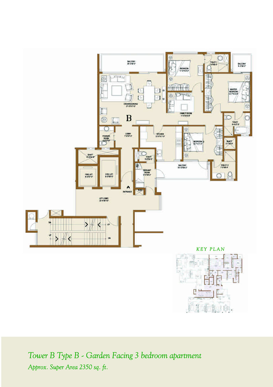 Belgravia central park 2 belgravia sector 48 sohna for 10 x 11 room square feet